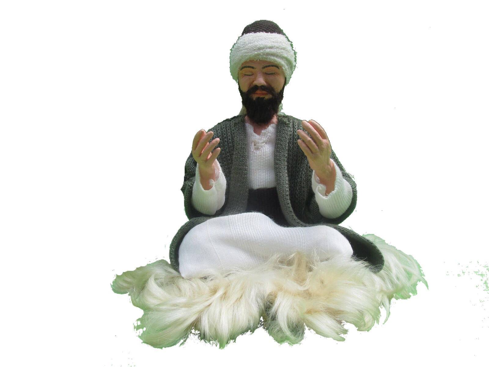 Turkeyfamousfor Dervish Doll Kitre Doll Handcraft Doll 3 - Traditional Gifts