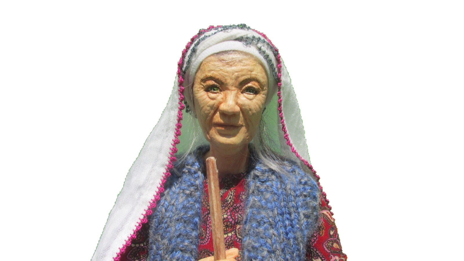 Turkeyfamousfor Turkish Handcraft Doll Kitre Doll Sclupture Doll Güllü Grandmother 2 - Traditional Gifts