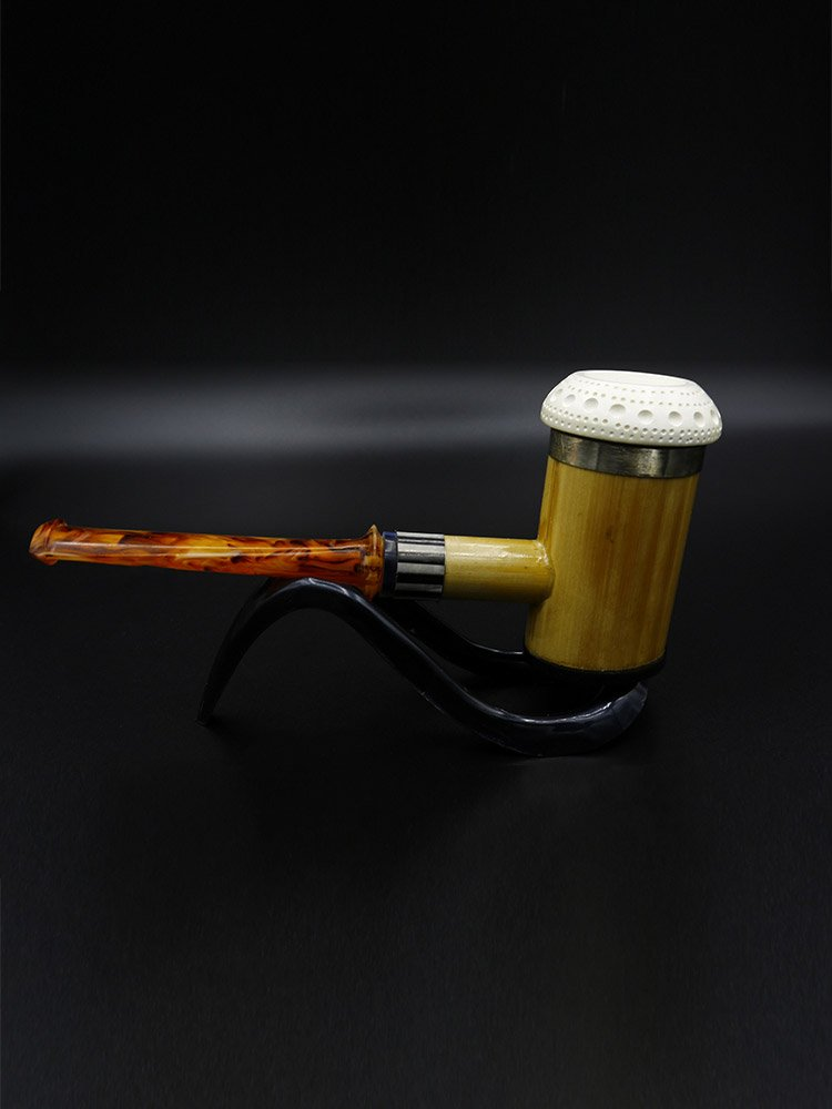 bamboo poker pipe 3 - Old Tradition: Meerschaum Pipes